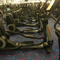 Gymnasium on Carnival Conquest