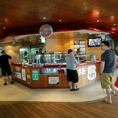 Guy''s Burger Joint on Carnival Liberty