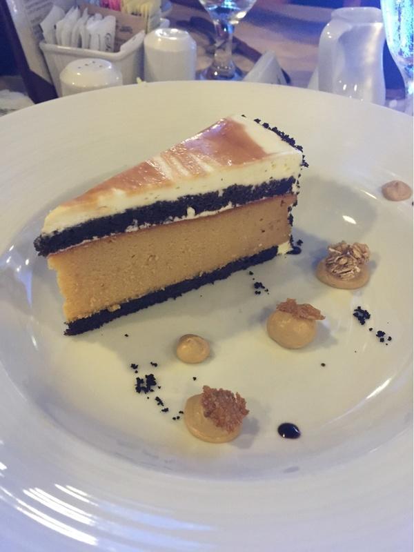 Salted Carmel Cheesecake - Carnival Fantasy