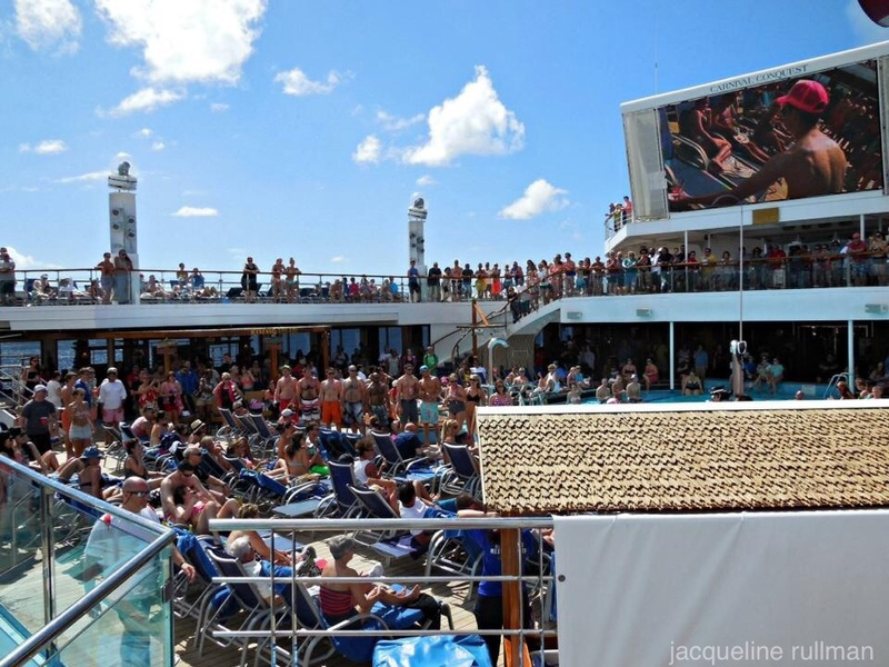 Hairy Man contest - Carnival Conquest
