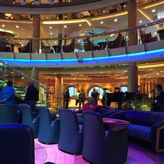 Lobby Bar on Radiance of the Seas