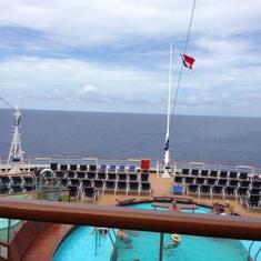 Serenity on Carnival Breeze