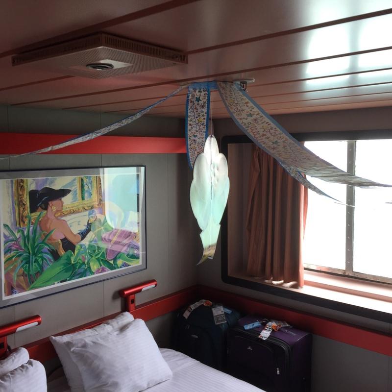 Carnival Elation cabin M85