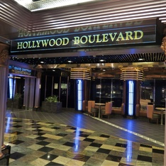 Hollywood Boulevard on Carnival Fascination