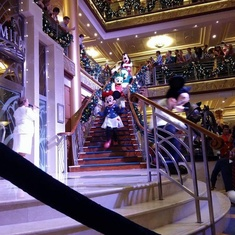 Atrium on Disney Magic