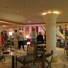 International Cafe on Grand Princess