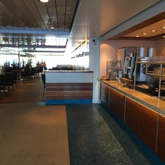 Open-Air Garden Café on Norwegian Breakaway