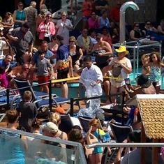 Universe Pool on Carnival Triumph