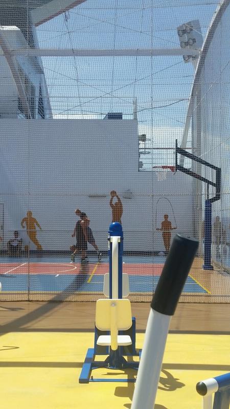 Basketball Court (Full) - Carnival Magic