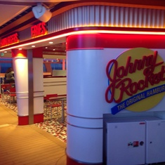 Johnny Rockets on Quantum of the Seas