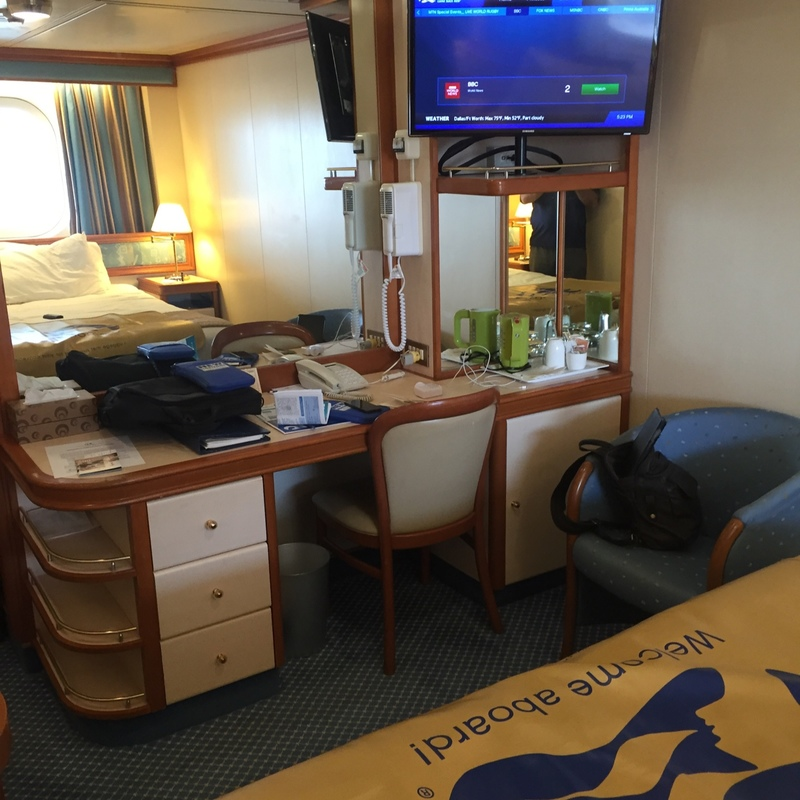 Oceanview Stateroom (Obstructed View) on Sapphire Princess