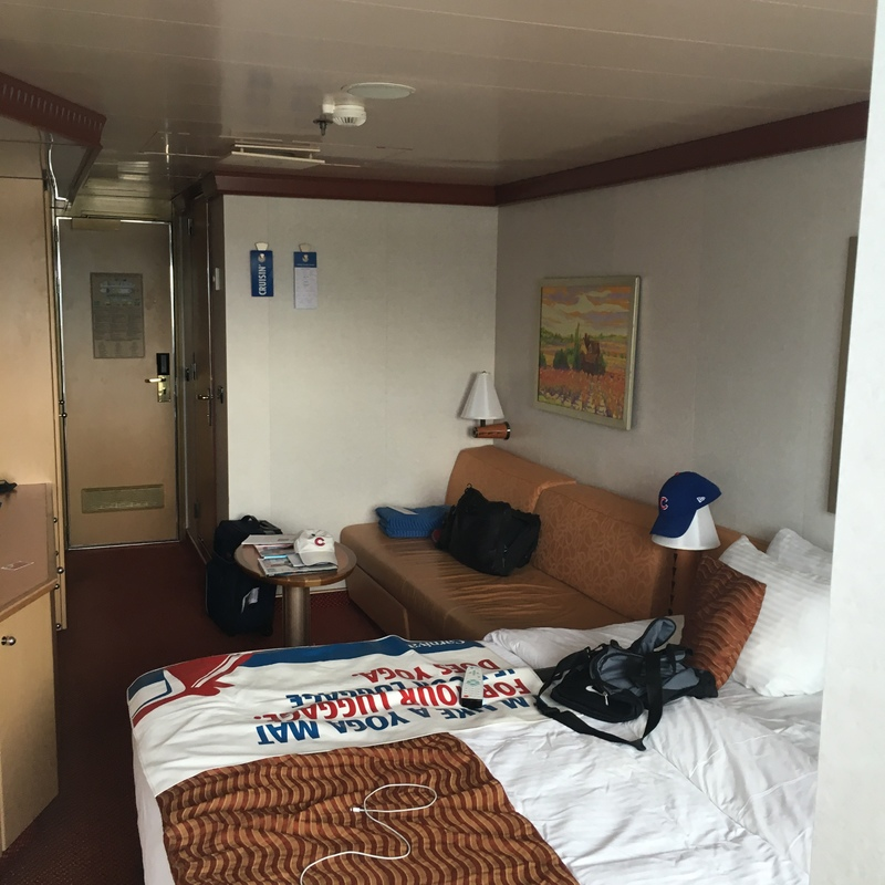 Balcony Cabin 7268 on Carnival Dream, Category 8B