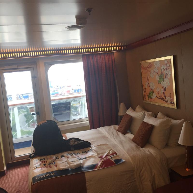 Balcony Cabin 1033 On Carnival Splendor Category 8p