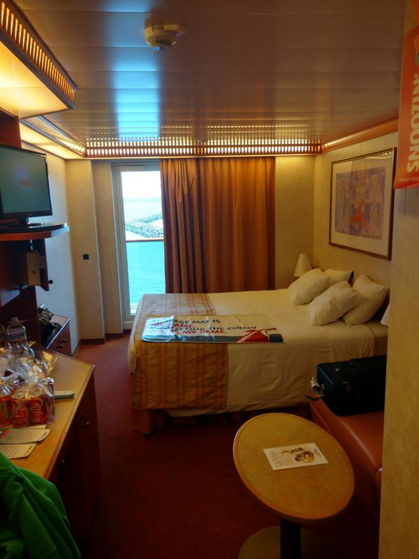 Balcony Cabin 5206 On Carnival Legend Category 8c