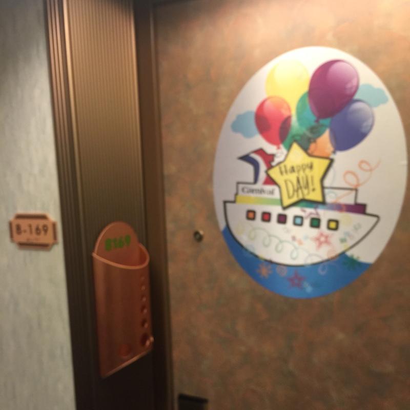 Carnival Pride cabin 8169