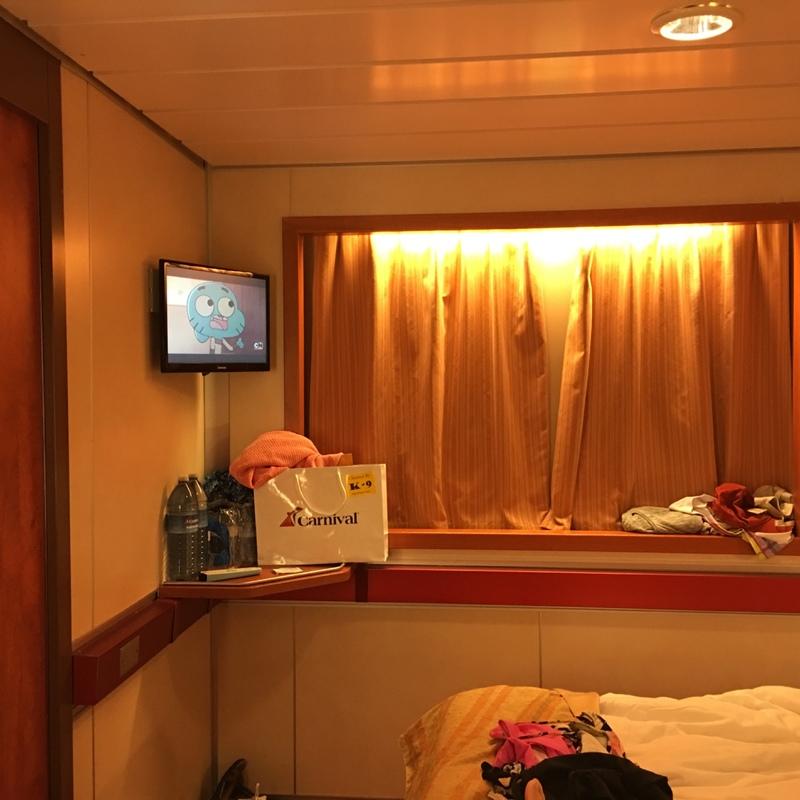 Carnival Ecstasy cabin E52