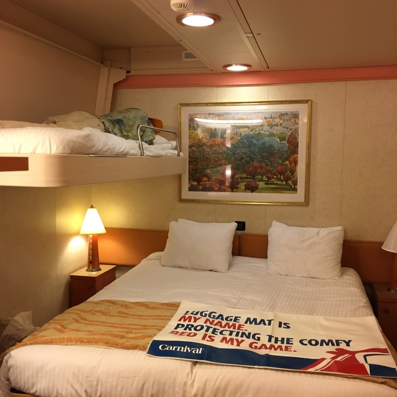 Carnival Valor cabin 8282
