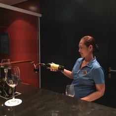 Cellars Wine Bar on Norwegian Escape