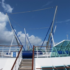 Bungee Trampolines on Enchantment of the Seas