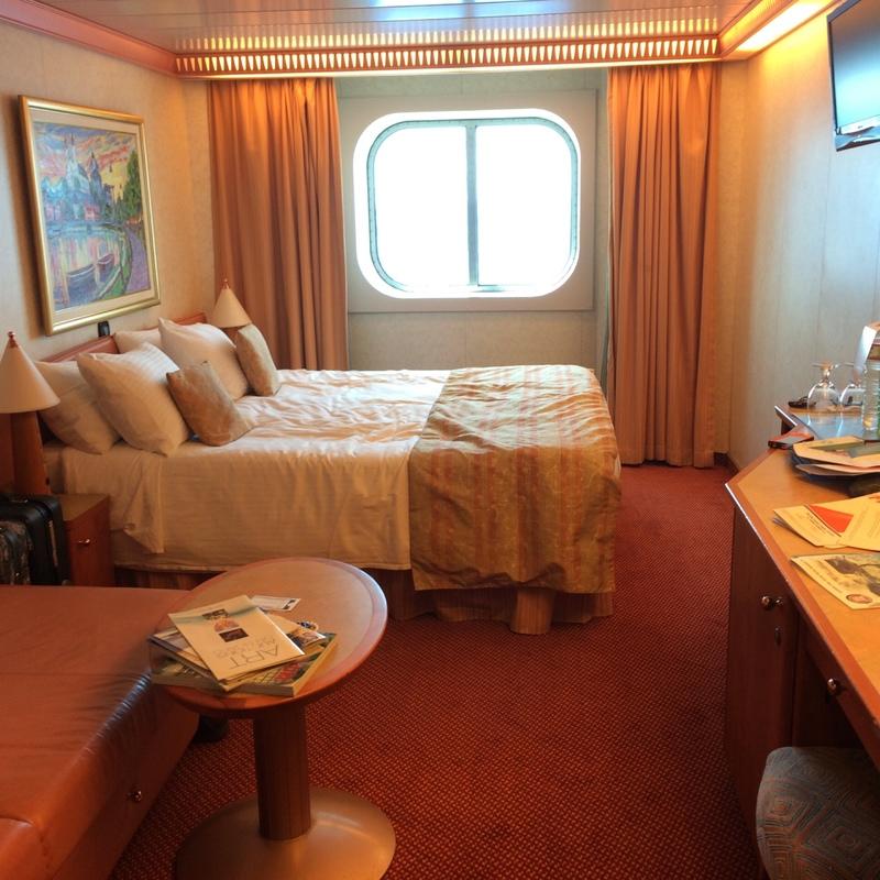 Oceanview Stateroom Cabin Category 6a Carnival Splendor