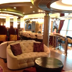 Champagne Bar on Brilliance of the Seas