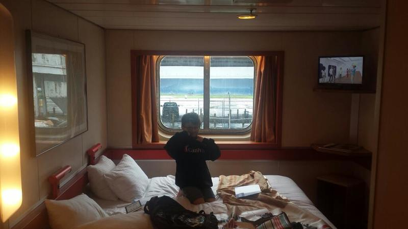 Oceanview Stateroom on Carnival Ecstasy