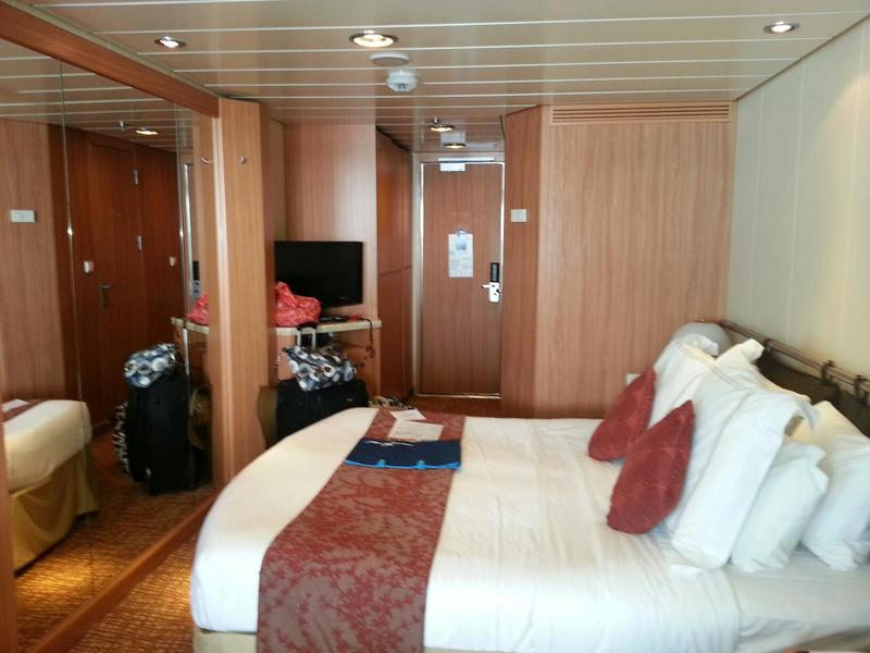 Balcony Cabin 8185 On Celebrity Summit Category W4