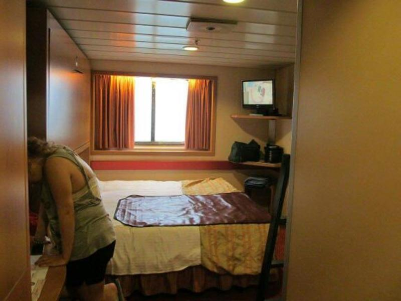 Oceanview Cabin E194 On Carnival Fantasy Category 6d