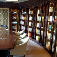 The Library on Regal Princess