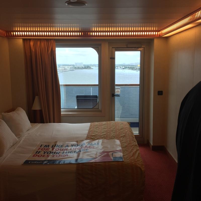Carnival Conquest cabin 1063