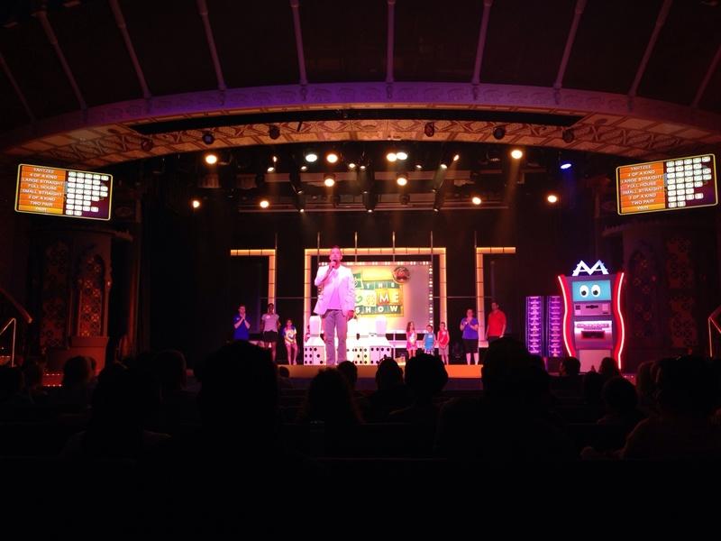 Carnival Pride, Entertainment, Taj Mahal Main Lounge