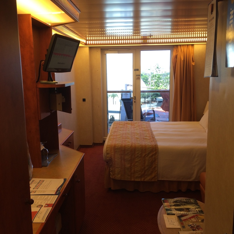 Balcony Cabin 5227 On Carnival Miracle Category 7a