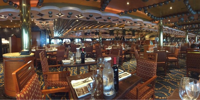 Carnival Splendor, Dining, The Black Pearl Restaurant