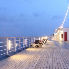 Jogging Track on Carnival Liberty