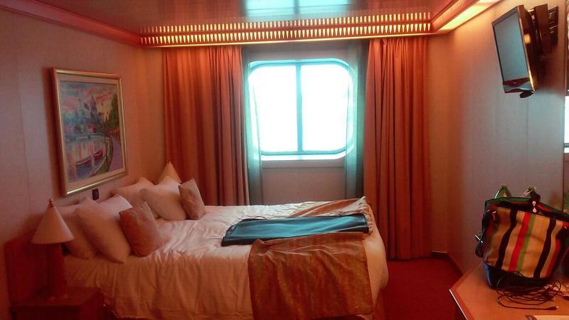 Oceanview Cabin 1256 On Carnival Splendor Category 6a