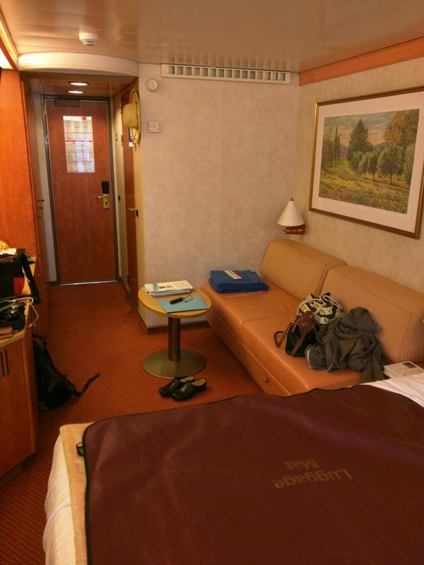 Oceanview Cabin 1199 On Carnival Pride Category 6a