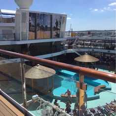 Slide Entrance on Carnival Breeze