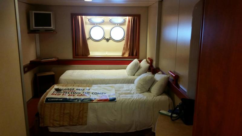 Carnival Ecstasy cabin R11