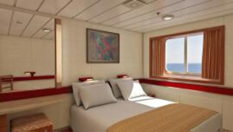 Oceanview Cabin M241 On Carnival Inspiration Category 6b