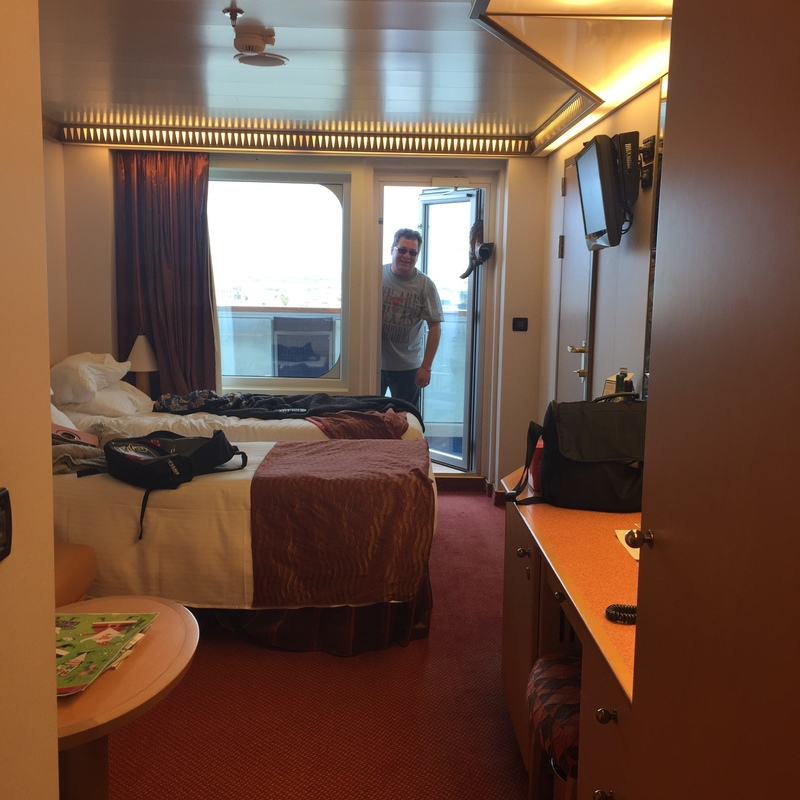 Balcony Cabin 8440 On Carnival Magic Category 8c