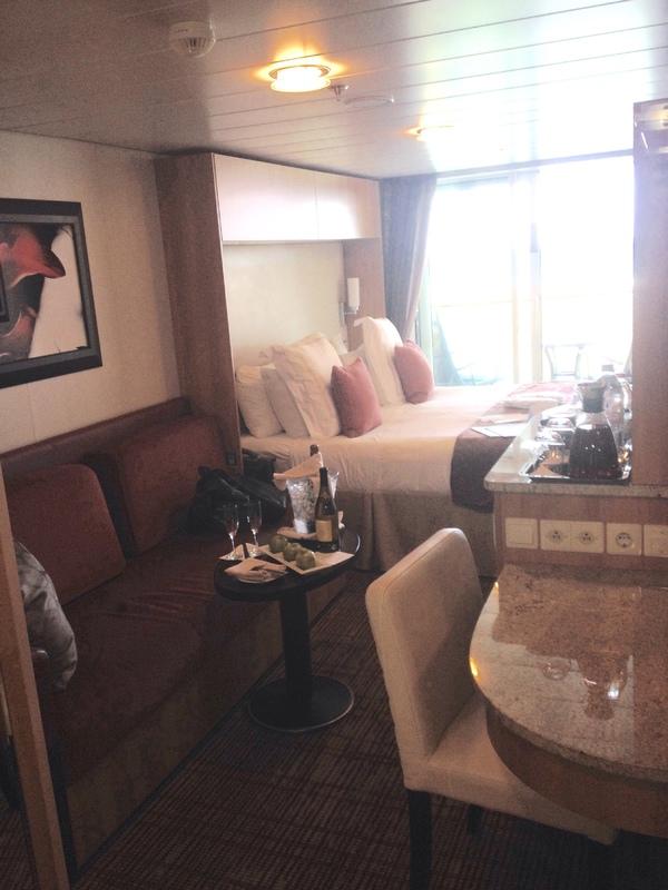 Celebrity silhouette ship interior