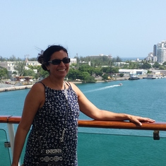 San Juan, Puerto Rico - First time on a cruise - ready to leave San Juan!