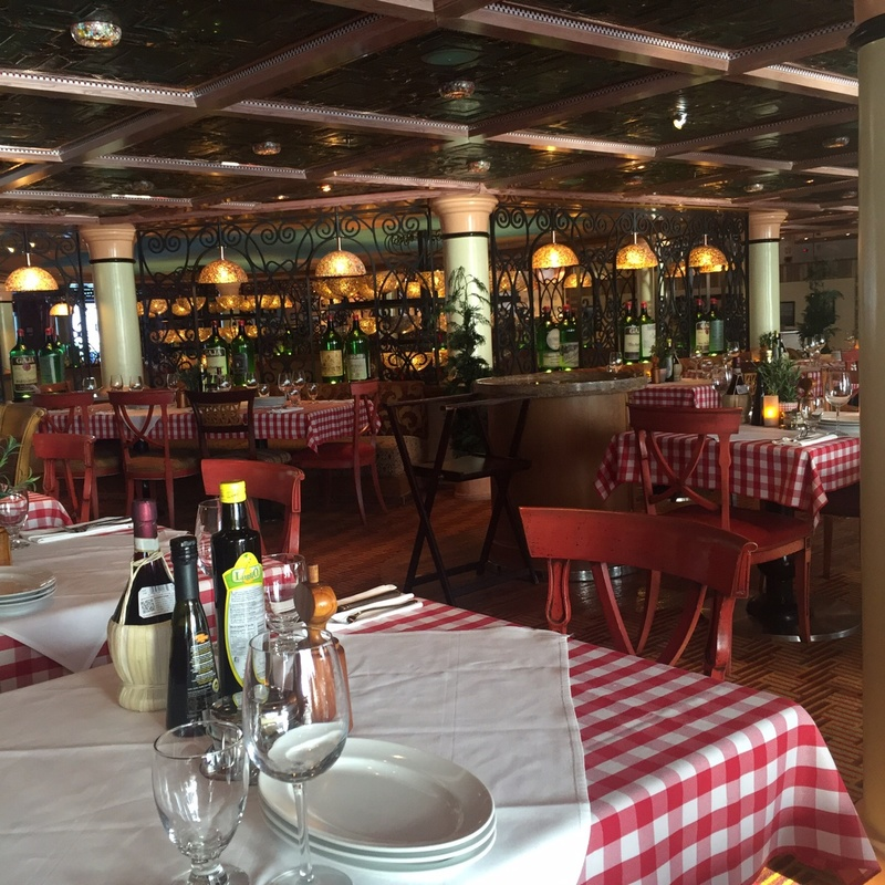 Cucina Del Capitano on Carnival Magic