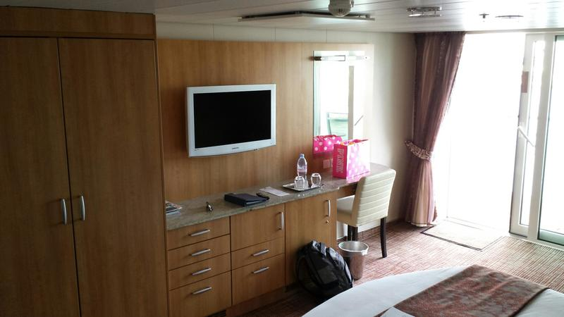 Balcony Cabin 7141 On Celebrity Equinox Category 2b