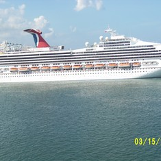 Carnival at Port Canaveral