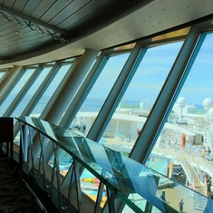 Viking Crown Lounge on Freedom of the Seas