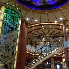 Grand Atrium on Caribbean Princess