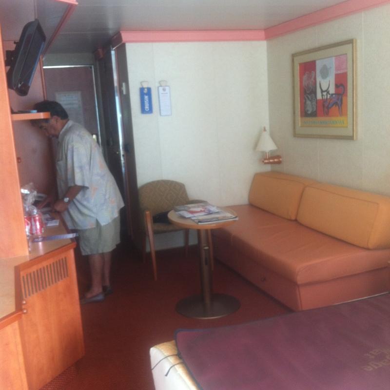 Carnival Glory cabin 2287