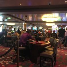 Casino on Norwegian Dawn