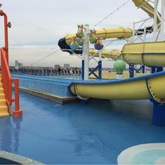 Slide Entrance on Carnival Inspiration